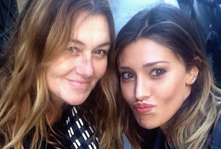 Belen e la madre Veronica