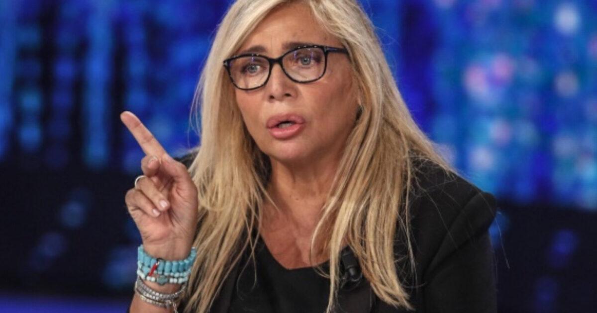 Mara Venier furiosa con il marito Nicola Carraro