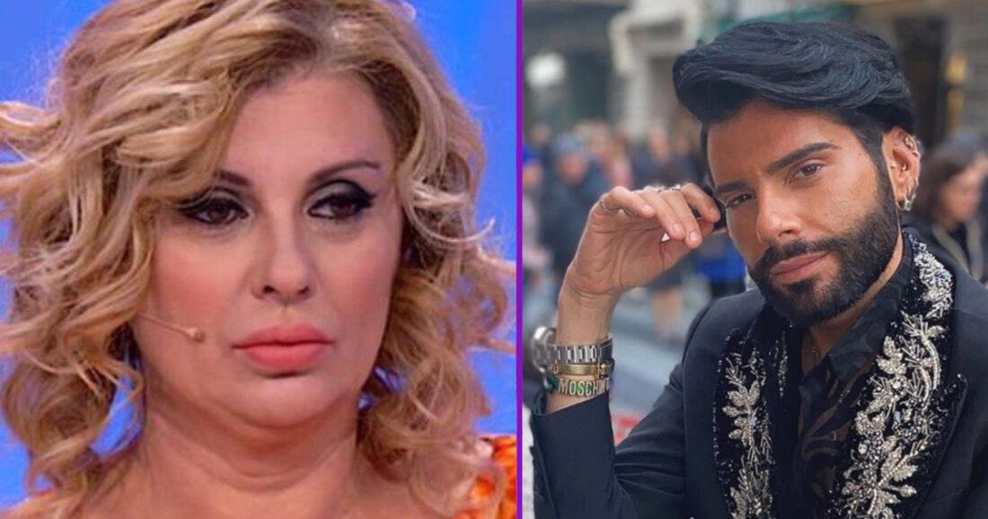 Tina Cipollari inviperita contro Federico Fashion Style