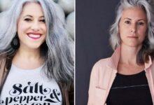 Photo of La bellezza delle donne con i capelli bianchi viene celebrata su Instagram