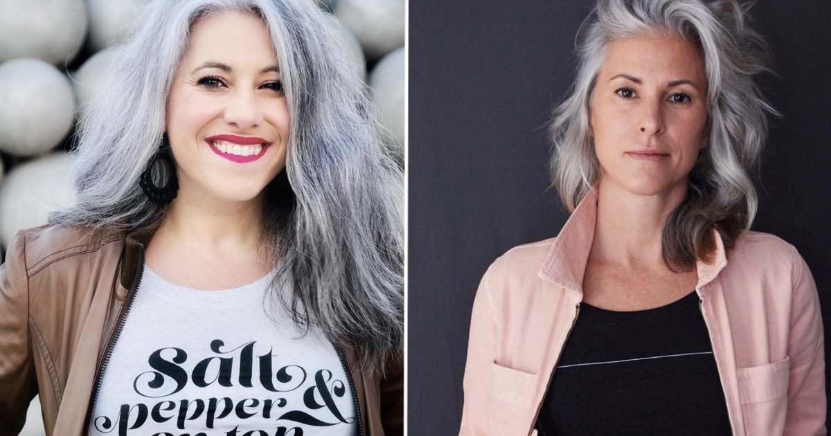 Bellezza capelli bianchi