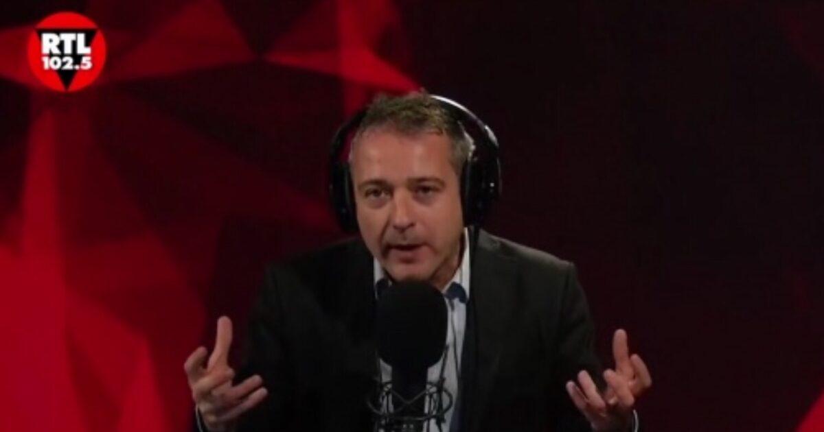 Pierluigi Diaco lite in diretta con Giusi Legrenzi