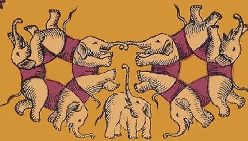 test illusione elefanti