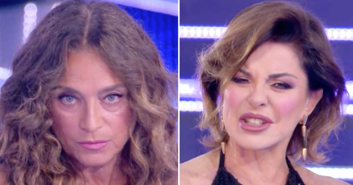 Alba Parietti e Caterina Collovati, scontro furioso