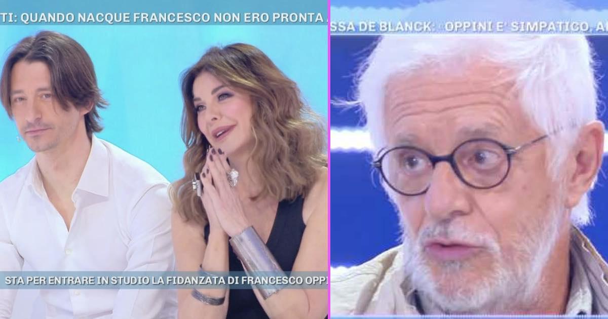 Franco Oppini Contro Alba Parietti Fai Piu La Madre E Meno La Parietti
