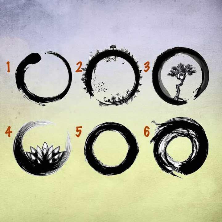 Test psicologico scegli un cerchio
