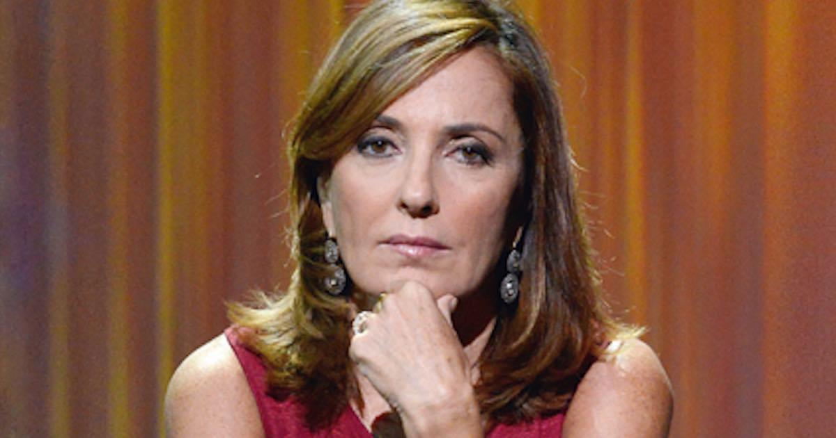 Barbara Palombelli senza trucco