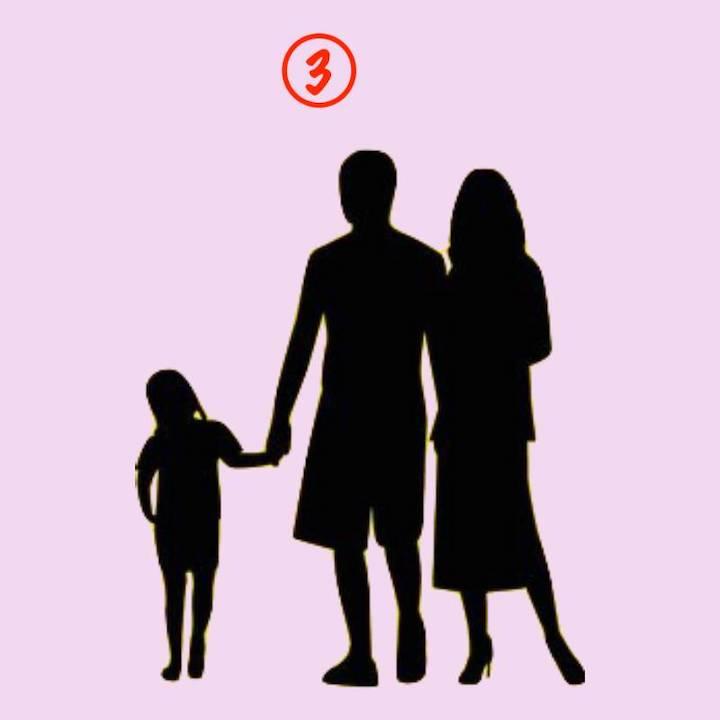 famiglia tre