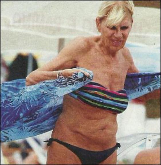 Gemma Galgani, spunta la foto in bikini
