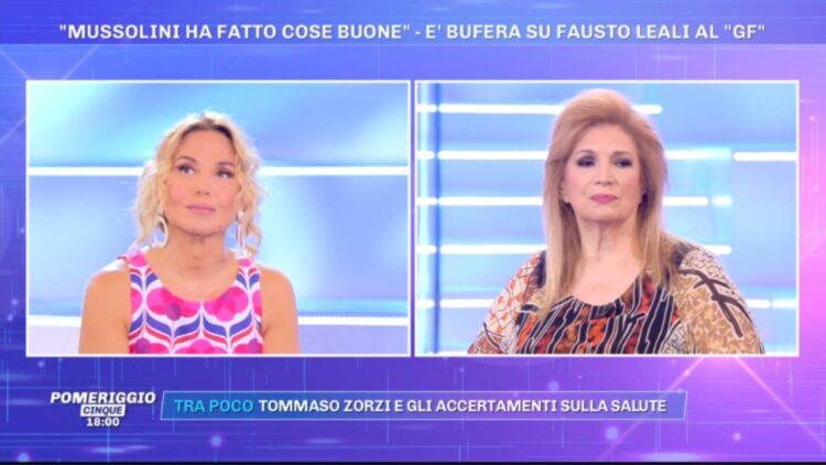 Iva Zanicchi difende Fausto Leali
