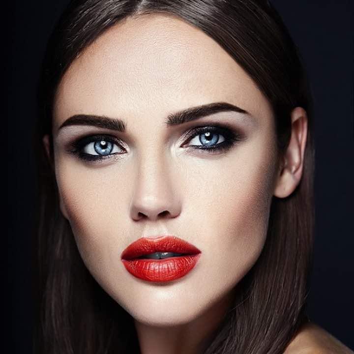 Il volto di una donna