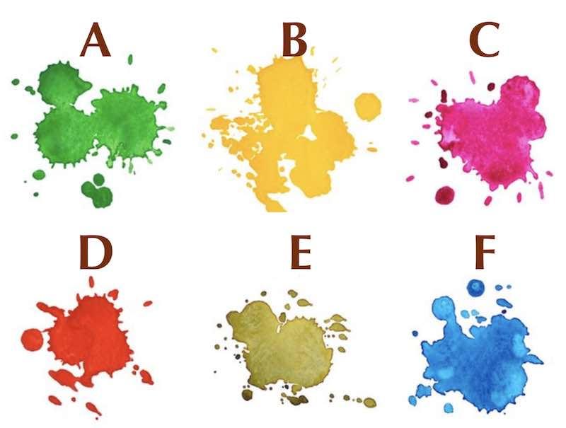 Scegli uno di questi colori ad acquerello