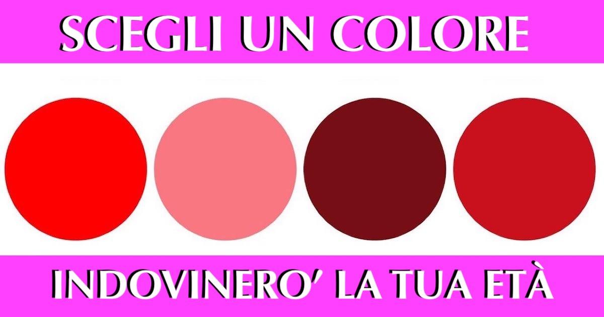 Test psicologico sui colori