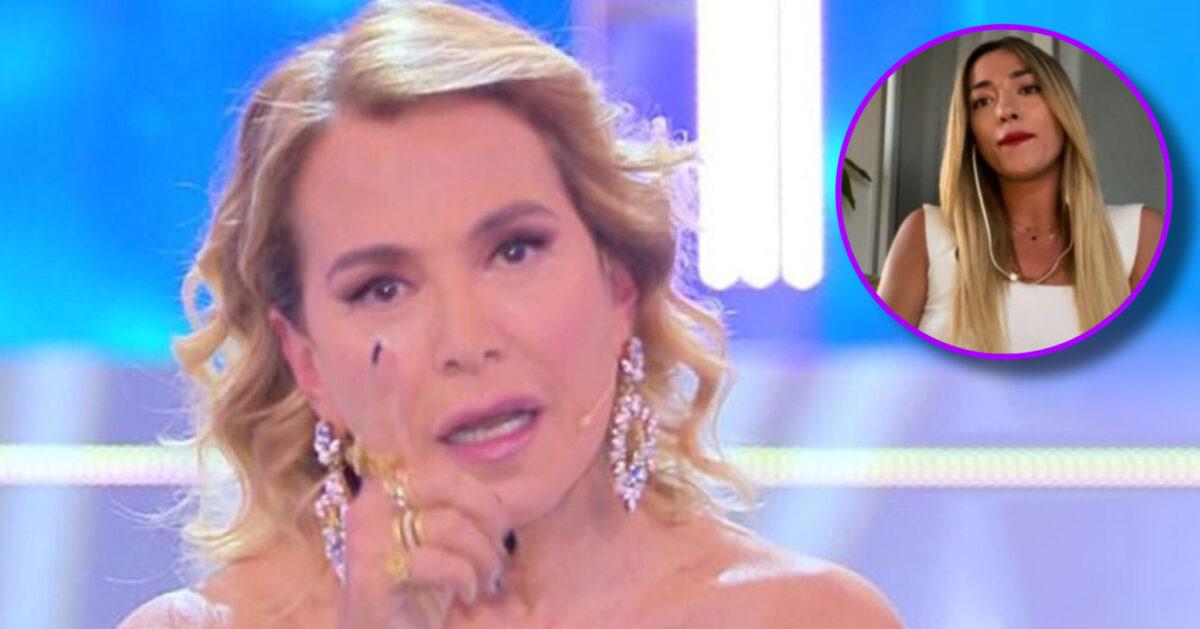 Barbara D'Urso minaccia Soilel che vuole abbandonare lo studio di Pomeriggio 5