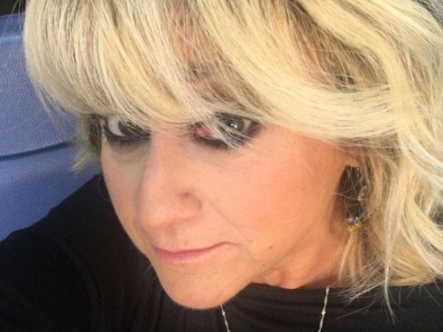 Luciana Littizzetto triste per l'addio al compagno