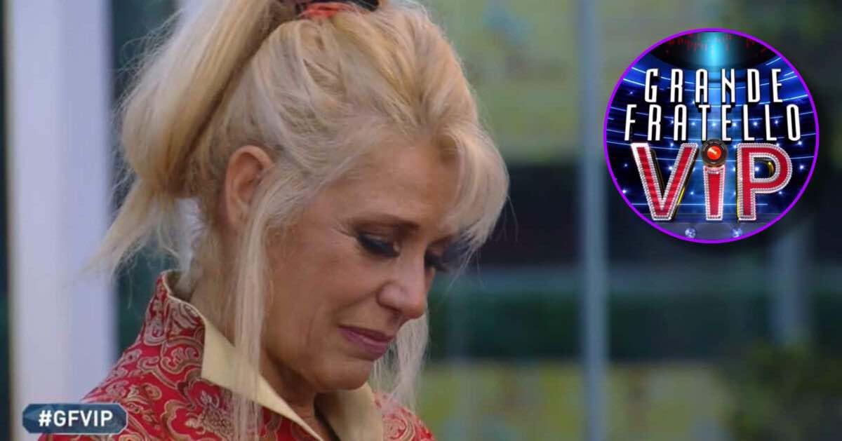 Maria Teresa Ruta, dramma al GF Vip