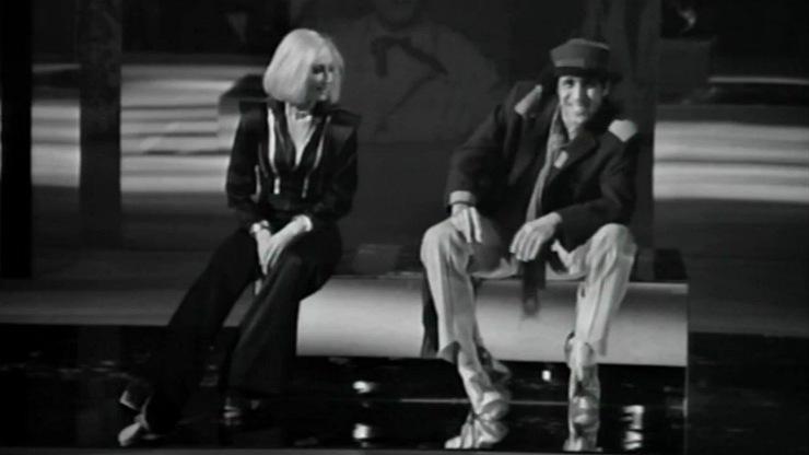 Adriano Celentano e Raffaella Carrà
