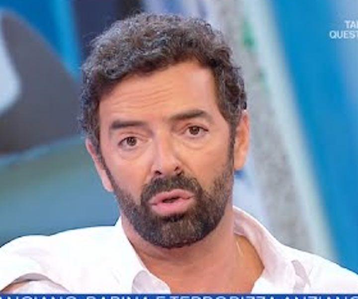 Alberto Matano perde le staffe