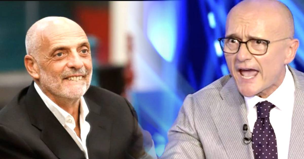 Alfonso Signorini rimprovera Paolo Brosio