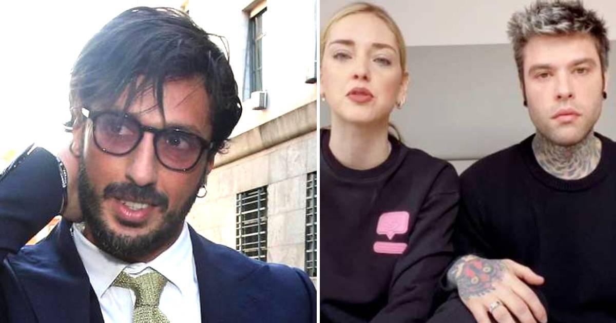 Fabrizio Corona asfalta la coppia Fedez e Chiara Ferragni
