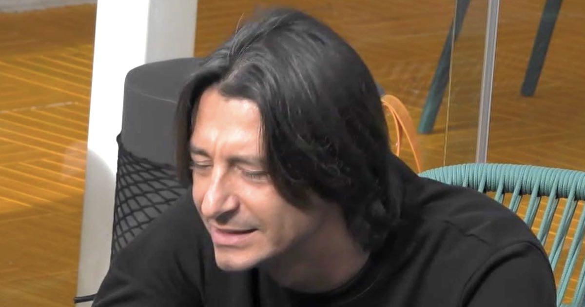 GF Vip. Francesco Oppini tormentato dai sensi di colpa