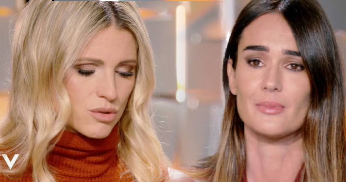 Hunziker Silvia Toffanin in lacrime