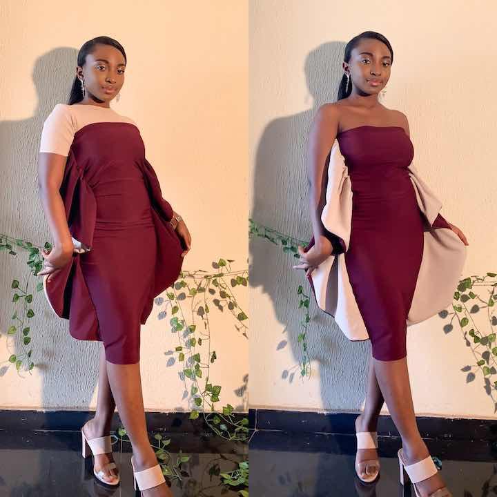 La giovane sarta nigeriana abito