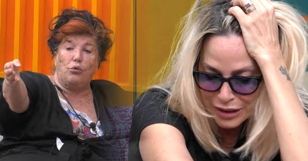 Stefania Orlando in lacrime