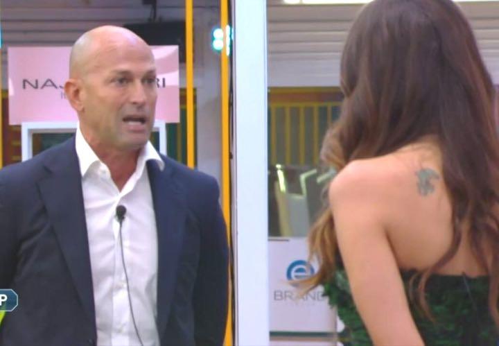 Stefano Bettarini subito scontro con Dayane Mello