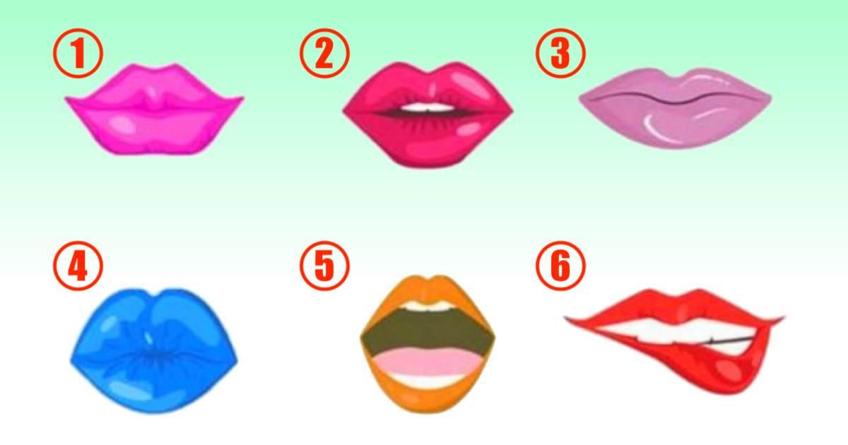 Test psicologico scegli una delle labbra