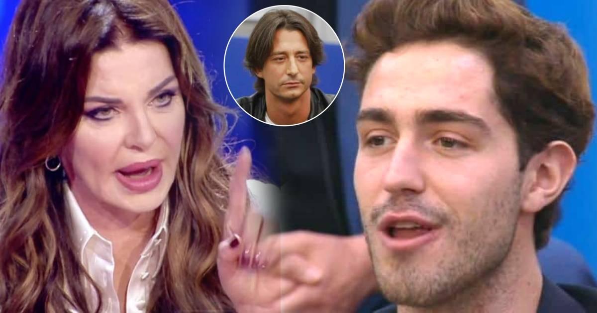 Tommaso Zorzi contro Alba Parietti