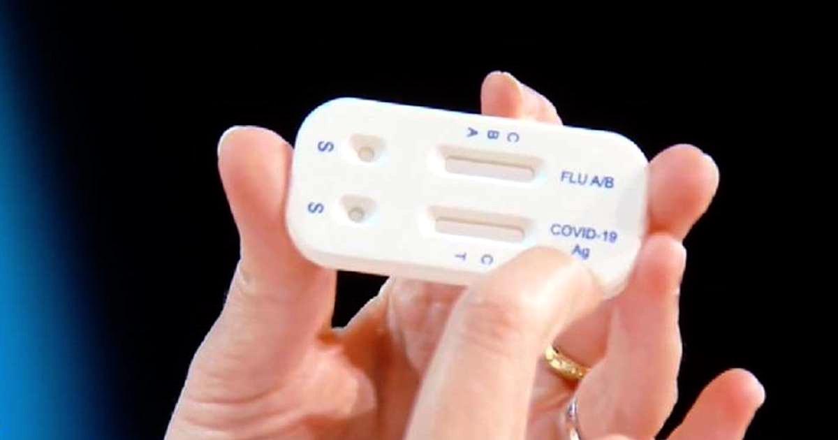distinguere influenza dal Covid test