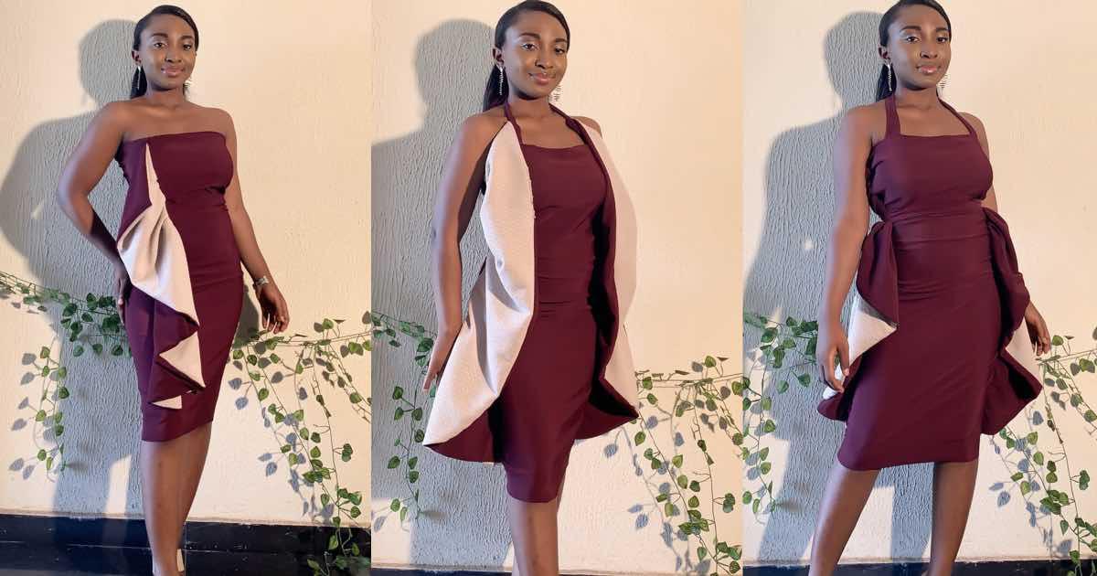 giovane sarta nigeriana abito