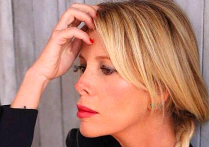 Alessia Marcuzzi in crisi con il marito