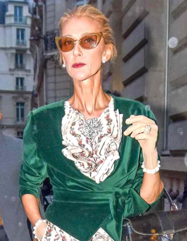Celine Dion- Mi concentro su ciò che è buono per me...
