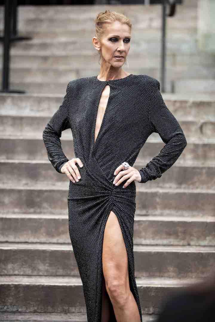 Celine Dion risponde a chi critica il suo aspetto inquietante per l'eccessiva magrezza