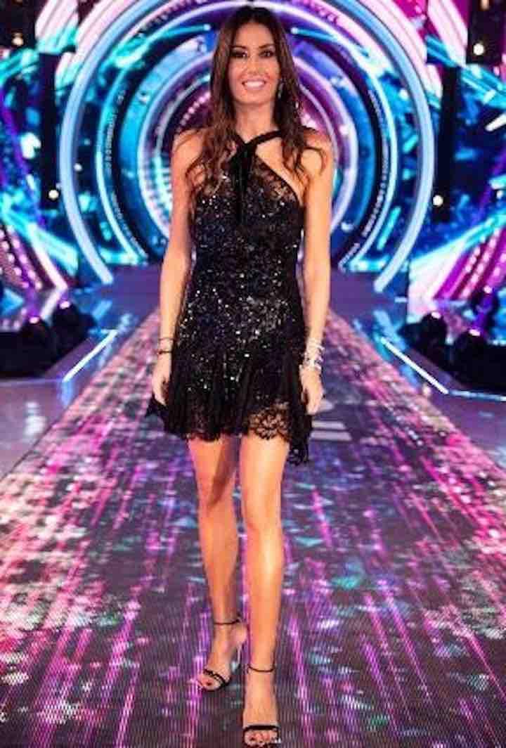 Elisabetta Gregoraci, sceglie un look lussuoso