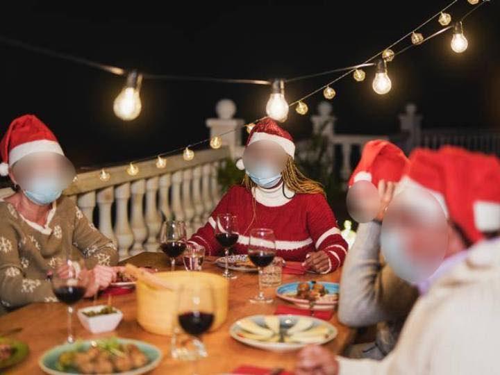 In 7 al cenone di Natale multati dalla polizia di400 euro ogni partecipante