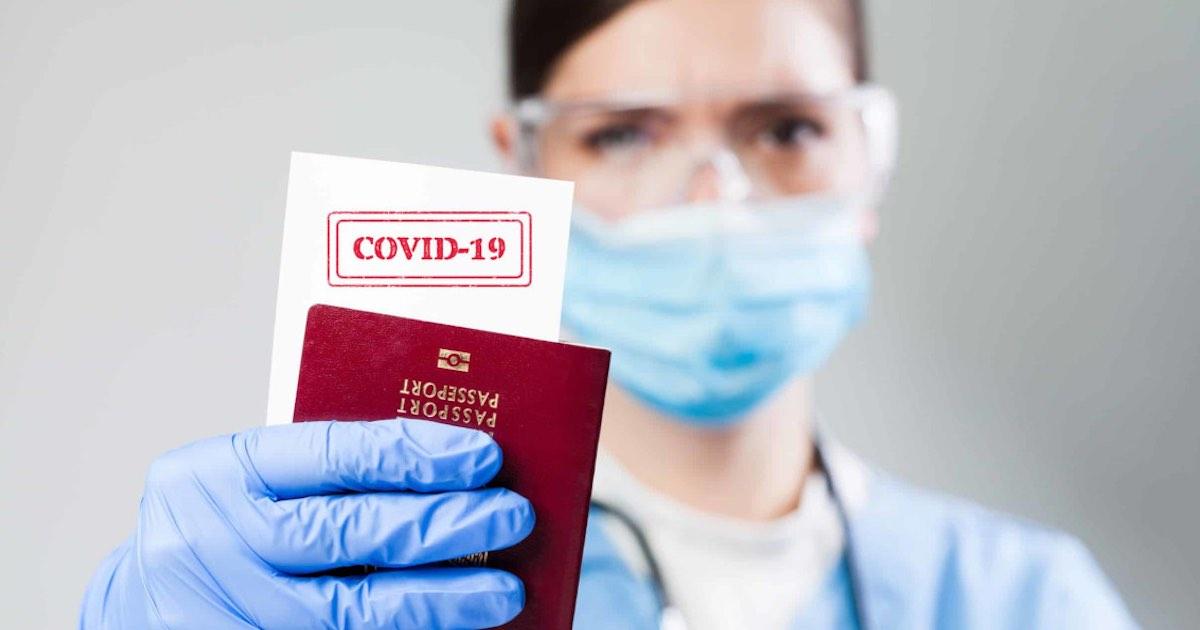 In arrivo il Covid Passport