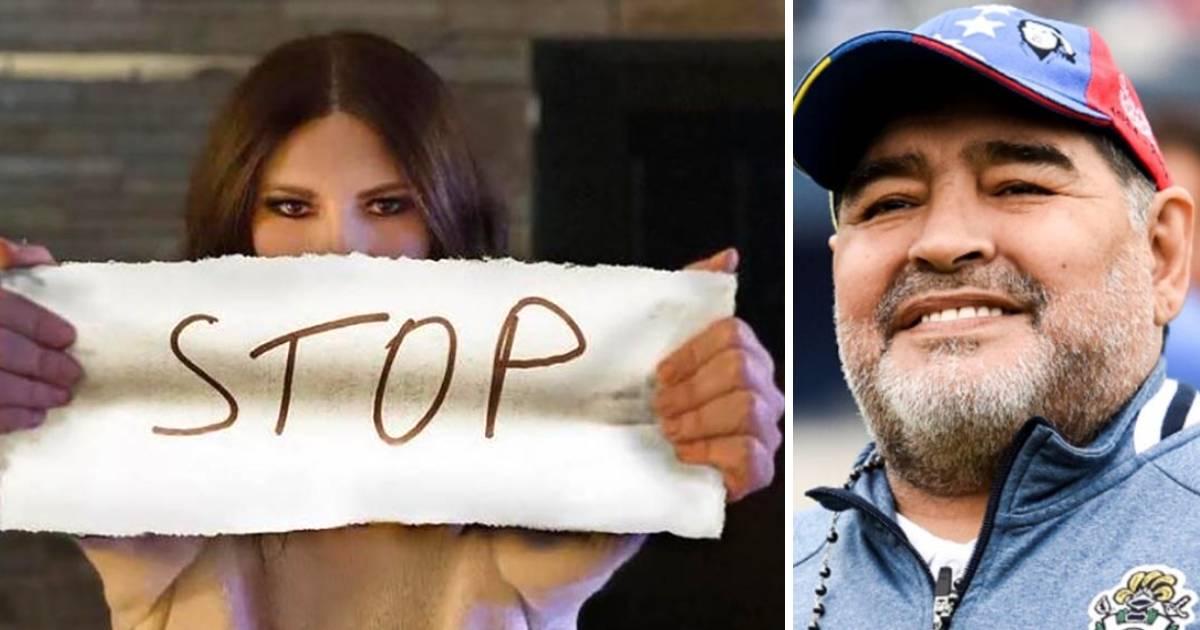 Laura Pausini duramente criticata per il commento su Maradona si difende