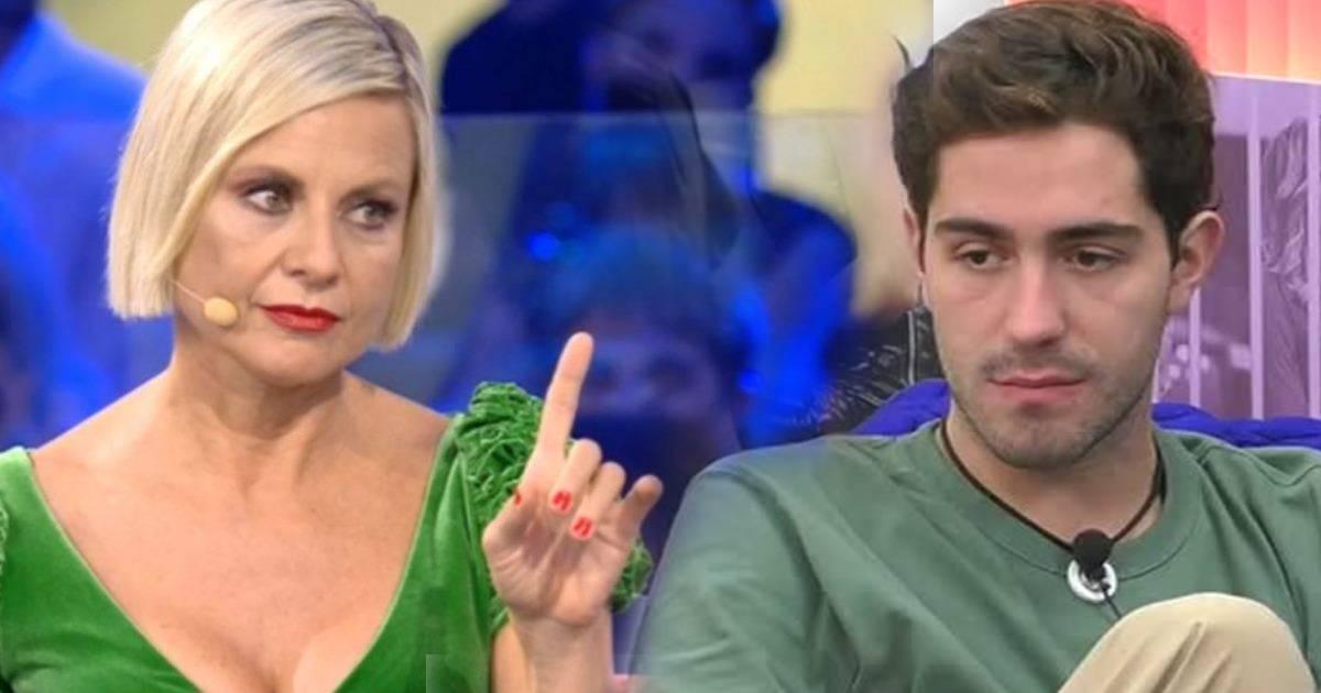 Antonella Elia velenosa contro Tommaso Zorzi