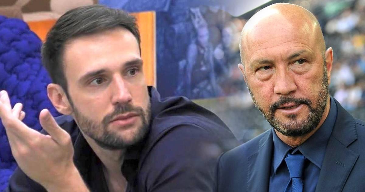 GF Vip Walter Zenga asfalta il figlio Andrea Zenga