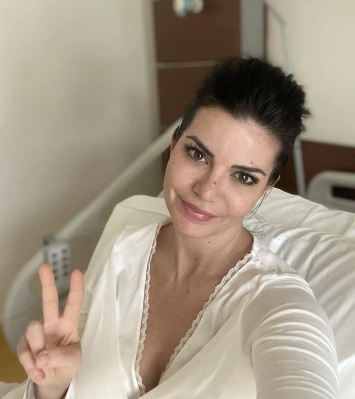 Laura Torrisi in ospedale