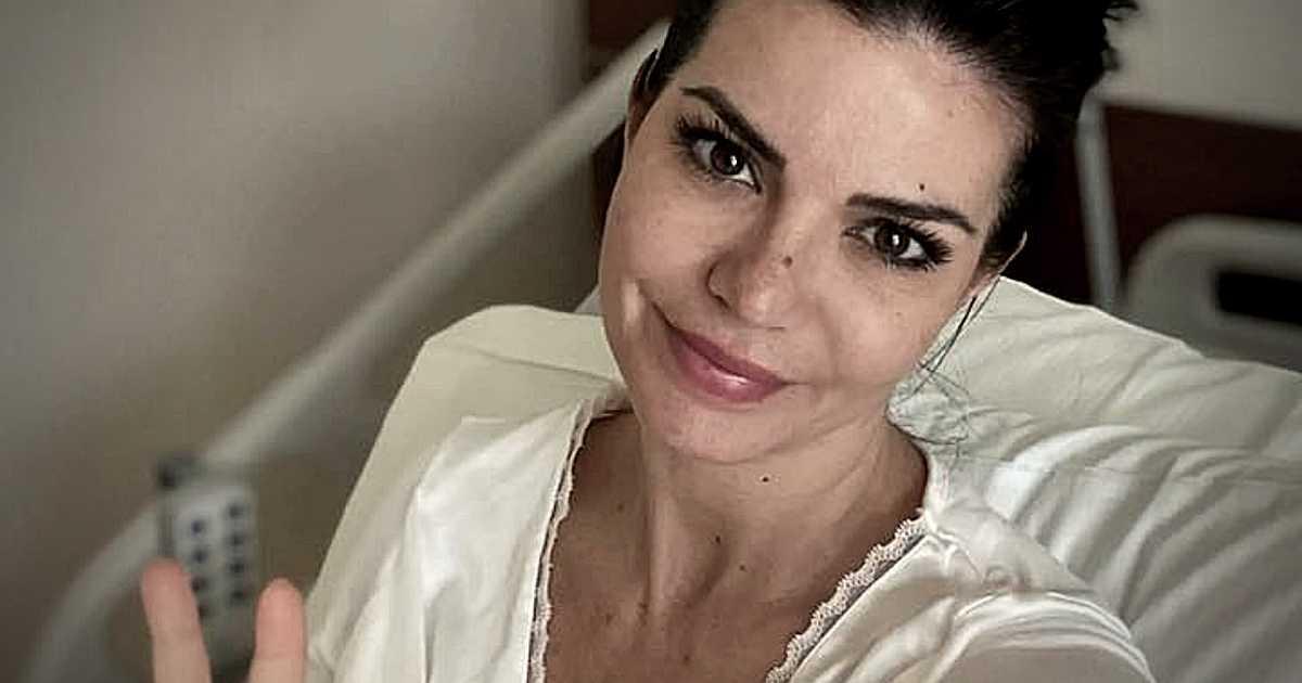 Laura Torrisi ricoverata in ospedale