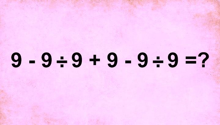 Solo poche persone riescono a risolvere questo semplice problema matematico senza la calcolatrice. Sei in grado di farlo?