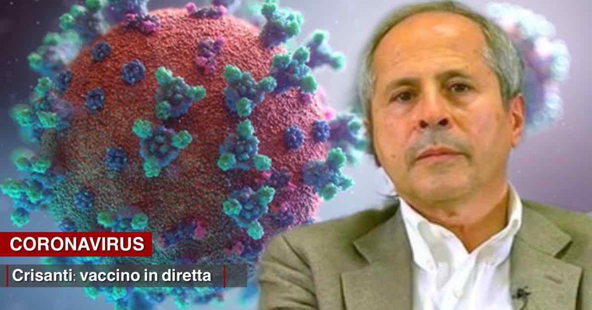 Andrea Crisanti mette fine alle polemiche e si vaccina in diretta Facebook