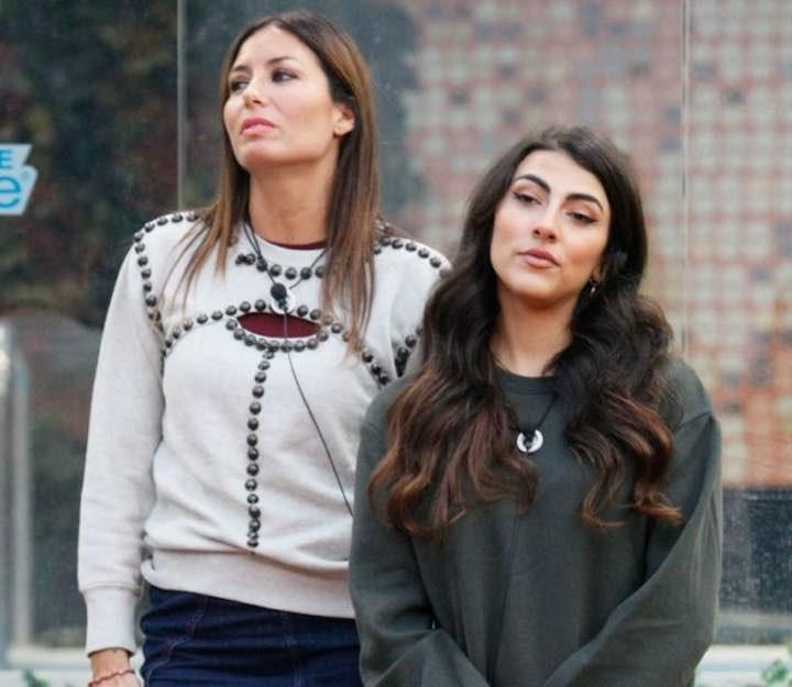 Elisabetta Gregoraci e Giulia Salemi
