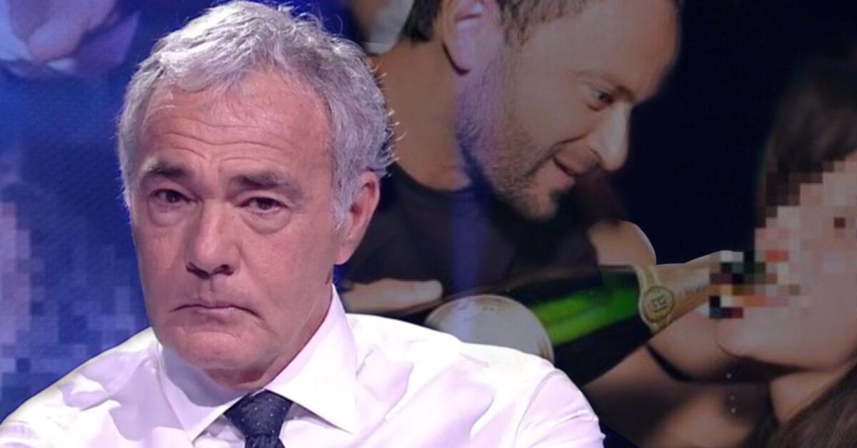Massimo Giletti in lacrime per le vittime di Genovese