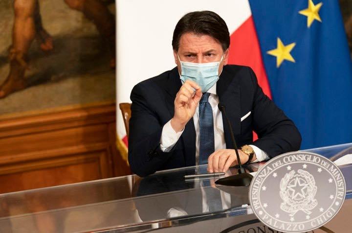 gradimento del premier Giuseppe Conte