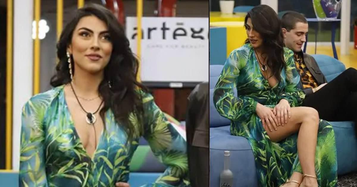 Giulia Salemi copia look Jennifer Lopez